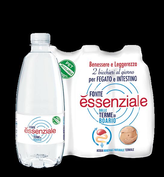 Fonte Essenziale - acqua depurativa di fegato e intestino