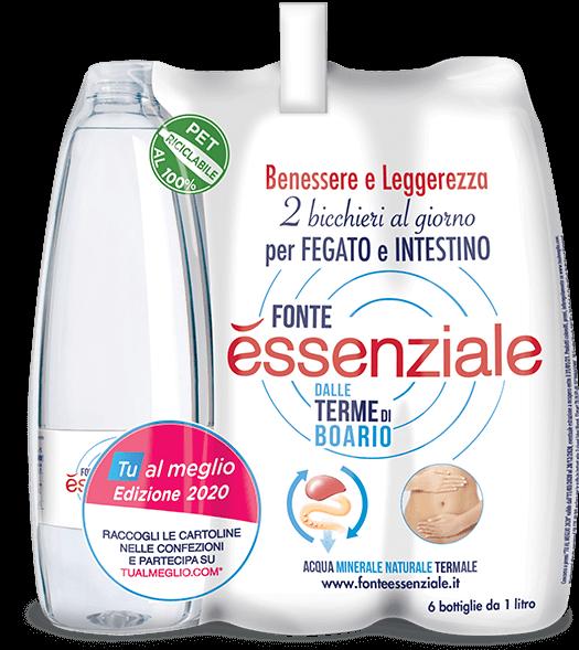 Fonte Essenziale - acqua per depurare fegato e intestino